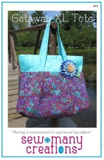 Sew Many Creations - Getaway XL Tote Pattern