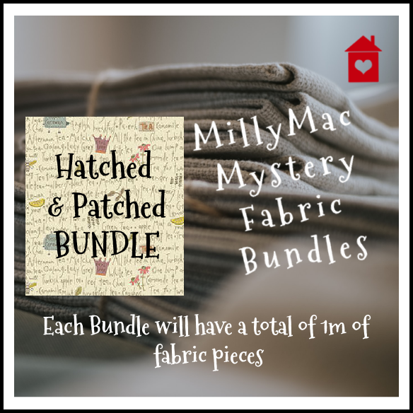 Mystery Bundles of fabrics~ Hatched & Patched