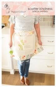 Poppie Cotton ~ Prairie Sisters ~ Scatter Kindness Apron pattern