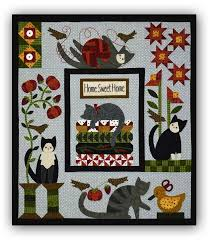 Bonnie Sullivan- Purrfectly Pieced Quilt ~Set of 5 patterns