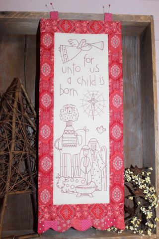 The Birdhouse Christmas Pattern ~ The Nativity