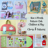 ~ 3 Month Pattern Club ~ Children at Play