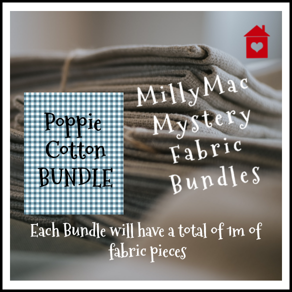 Mystery Bundles of fabrics~ Poppie Cotton