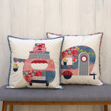 Poppies Adventures- cushion/applique pattern - Claire Turpin