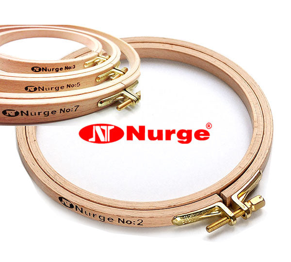 Nurge Embroidery Hoop No 4: 8 x 190mm (7 in)