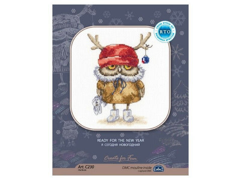 Ready For the New Year Art C230~ Pattern & Kit