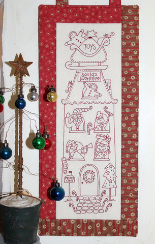The Birdhouse Christmas Pattern ~ Santa's Workshop