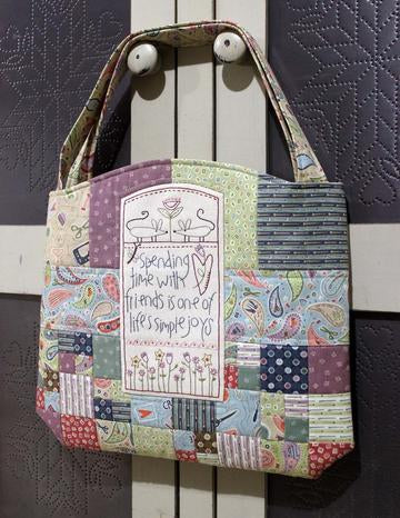 The Birdhouse Pattern ~ Sunshiny Day Bag