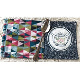 Nikki Tervo Designs Pattern & Kit~  Time for Tea Mug Rug