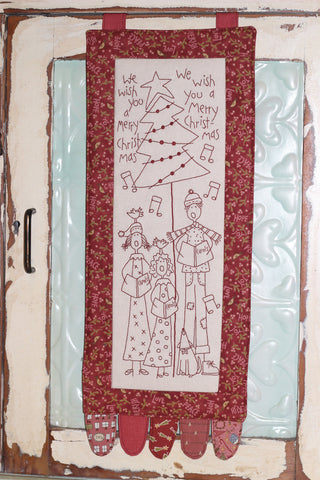The Birdhouse Christmas Pattern ~ The Carolers