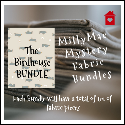 Mystery Bundles of fabrics~ The Birdhouse