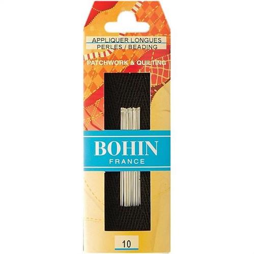 Bohin ~ Applique Long Needle Size 10 - 15/pkt