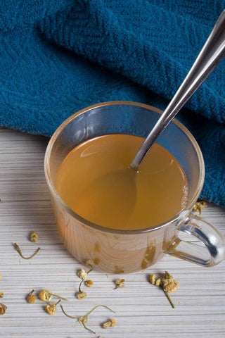 Hot Toddy with Chamomile