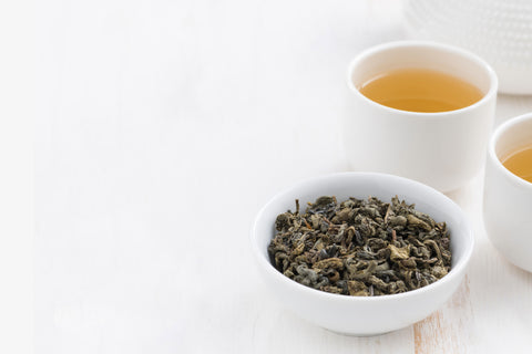 Organic Gunpowder Loose Leaf Green Tea