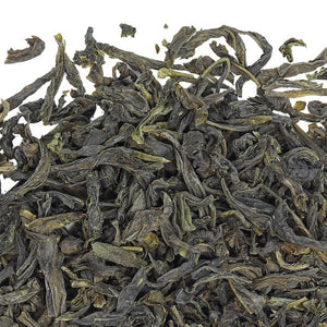 Organic Green Tea used in Organic Lung Ching (Dragon Well)