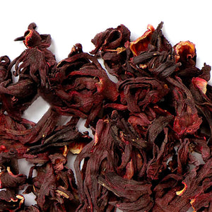 Organic Hibiscus used in Organic Blood Orange Rooibos