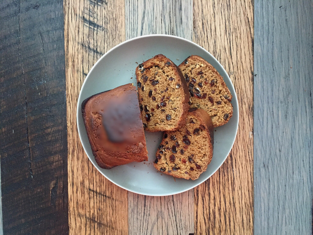 Full Leaf Tea Company Irish Barmbrack Tea Cake Final Flatlay