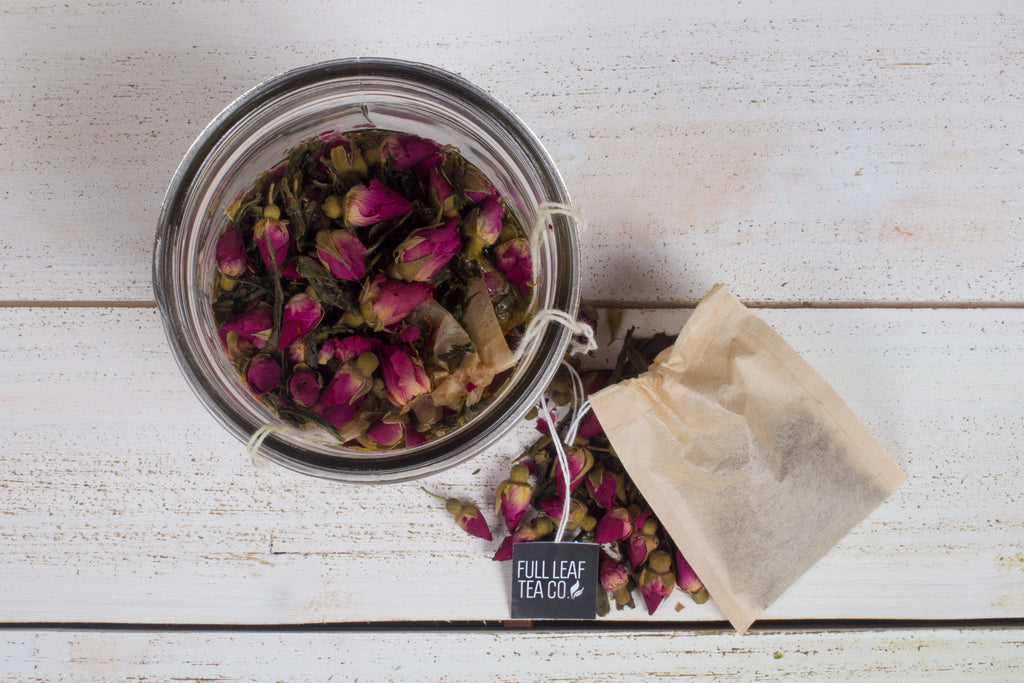 Full Leaf Tea Co Coconut Rose Earl Grey Steeping Tea