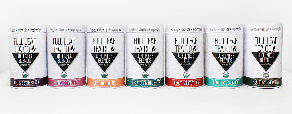 Full Leaf Tea Company Nine New Blend Release To the Nines Blog Organic Premium Loose Leaf and Organic Wellness Blends