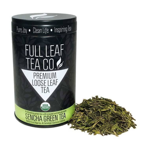 Organic Sencha  -  Loose Leaf Tea  -  Full Leaf Tea Company