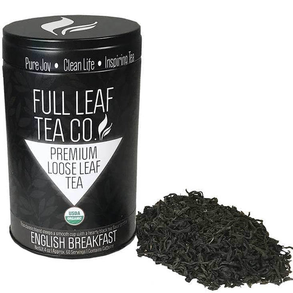 Organic English Breakfast  -  Loose Leaf Tea  -  Full Leaf Tea Company