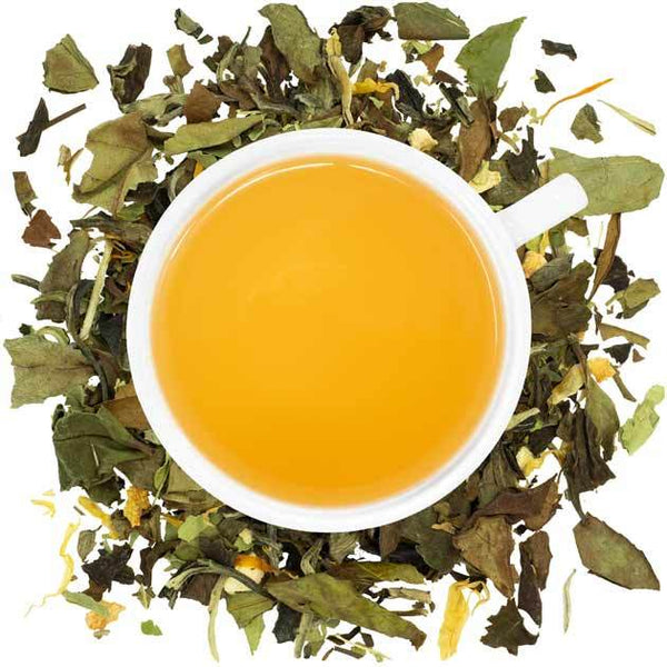 Organic Cheerful Lemon Tea  -  Loose Leaf Tea  -  Full Leaf Tea Company