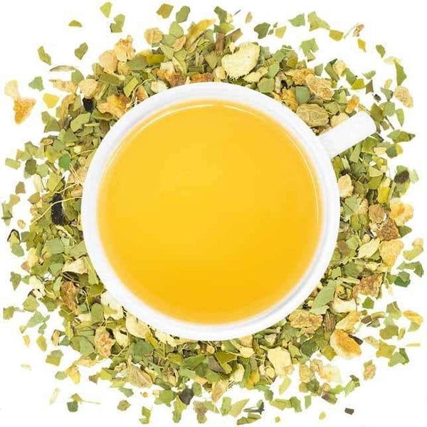 Organic Lemon Ginger Mate  -  Yerba Mate  -  Full Leaf Tea Company