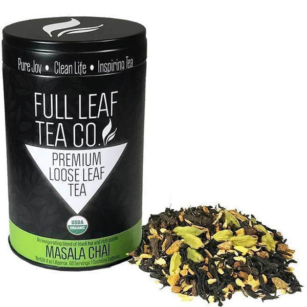 Organic Masala Chai  -  Loose Leaf Tea  -  Full Leaf Tea Company