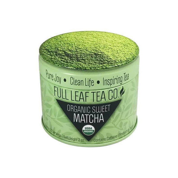 Organic Sweet Matcha Original  -  Matcha  -  Full Leaf Tea Company