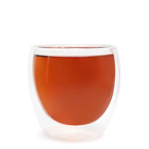 Double Walled Glass Teacup  -  Accessories  -  Full Leaf Tea Company