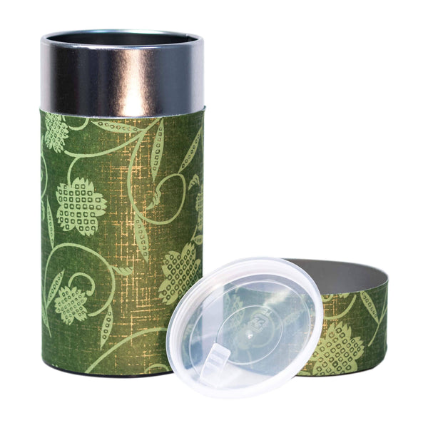 Tea Canister - Green  -  Accessories  -  Full Leaf Tea Company