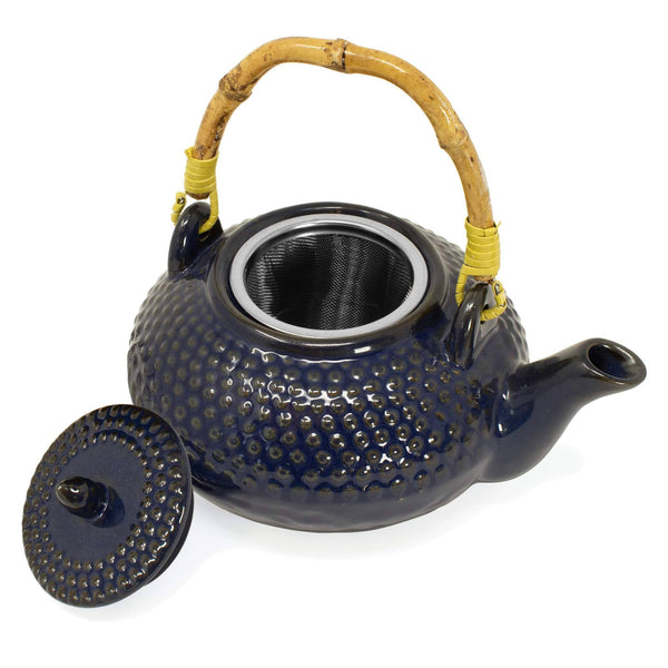 Ceramic Teapot and Tea Cup Set (Multiple Colors)  -  Accessories  -  Full Leaf Tea Company