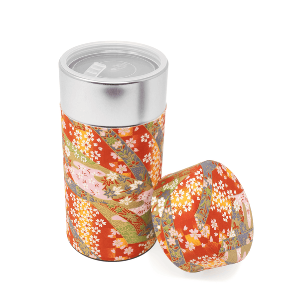 Tea Canister - Red  -  Accessories  -  Full Leaf Tea Company