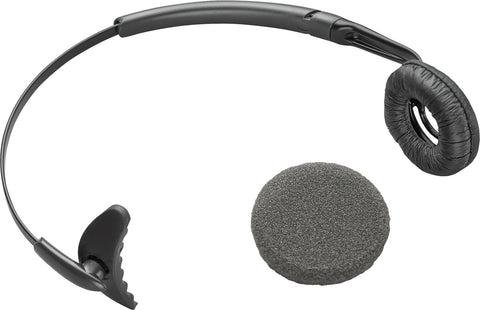 Plantronics CS60 Headband With Leatherette And Foam Ear Cushion