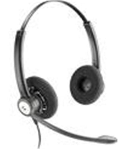 Plantronics HW121N Entera Wideband Binaural Noise-cancelling Headset Top