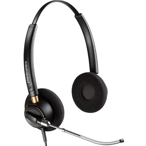 Plantronics Encorepro HW520 Voice tube Headset Top