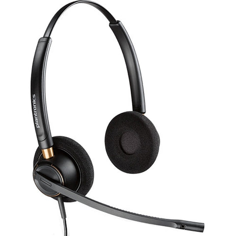 Plantronics Encorepro HW520 NC Headset Top