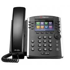 Polycom VVX 410 12-line Desktop Phone Gigabit Ethernet with HD Voice.