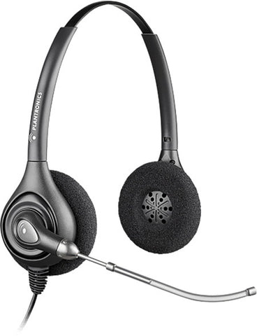 Plantronics HW261 Supraplus Wideband Binaural Voice Tube Headset Top