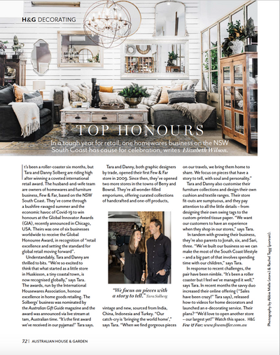 Top Honours - House and Garden Feature