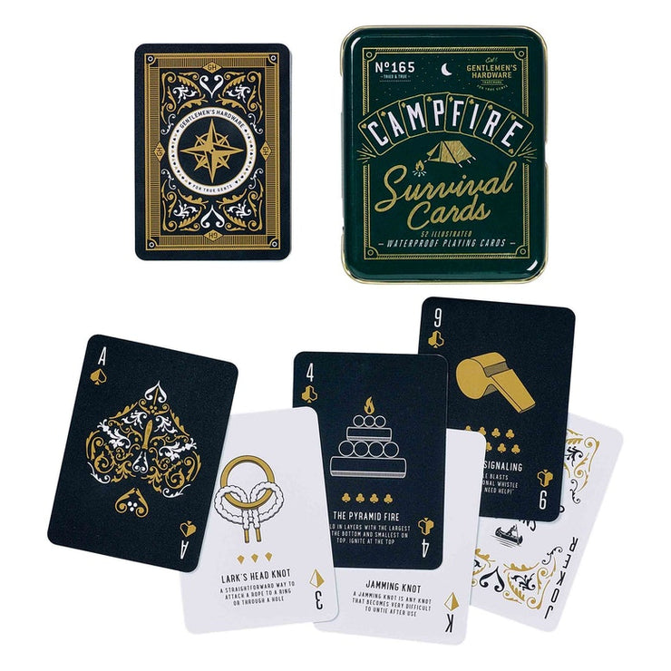 Campfire Survival Cards