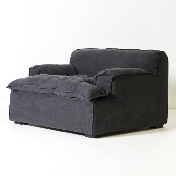 Bay Single Seater Sofa - Carbon
