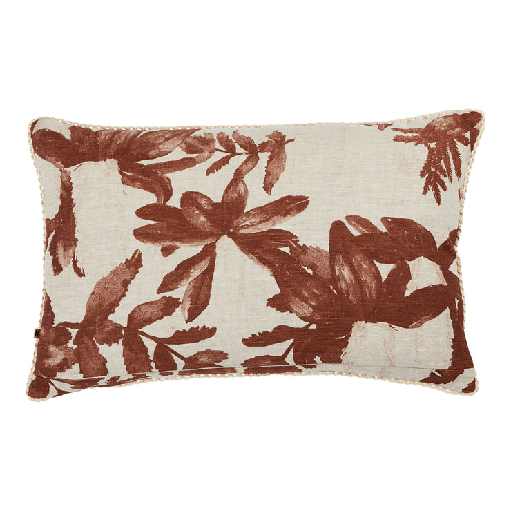 Bonnie & Neil Native Cushion - Rust
