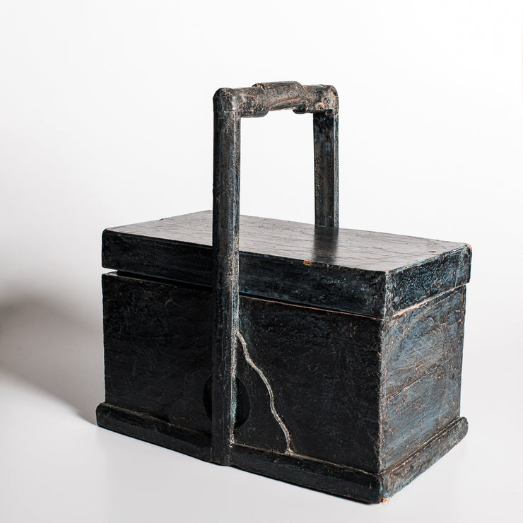 CDE1020-01 I Antique Chinese Rice Box
