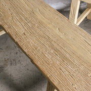 CFU0820-04 Chinese Elm Bench - Short