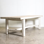 CFU1019-43 WH Marbella Dining Table - 244cm