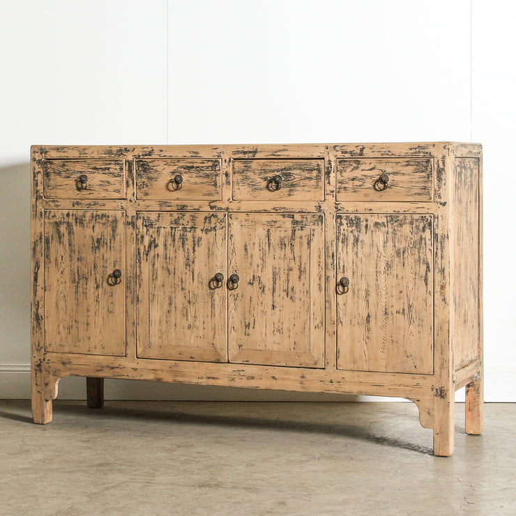 CFU1120-80 Chinese 4 Drawer 4 Door Sideboard