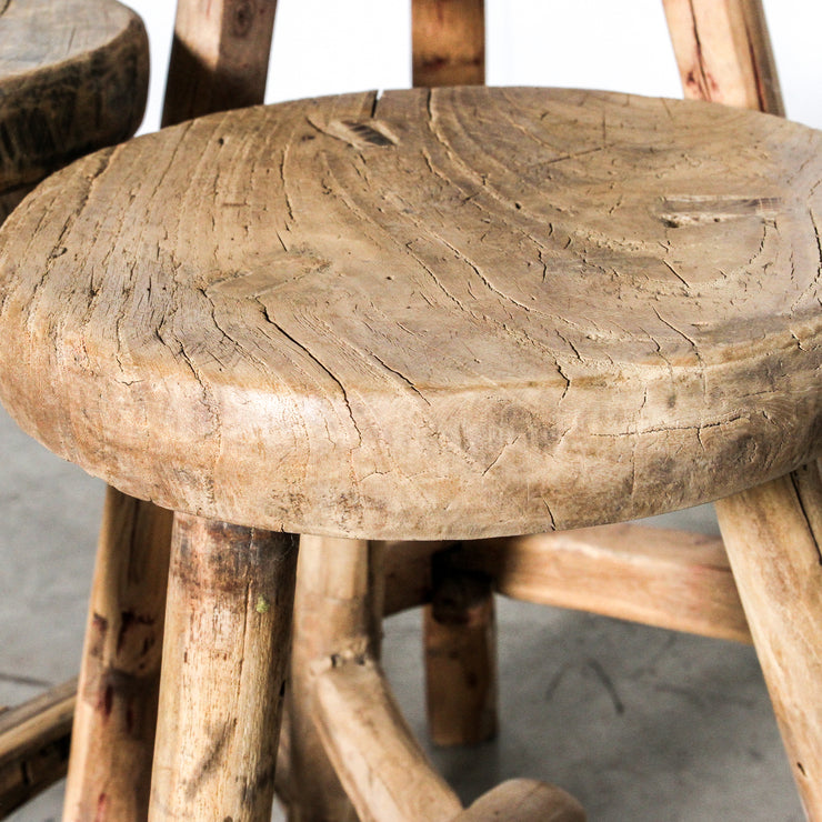 CFU1019-24 Chinese Round Workers Stool