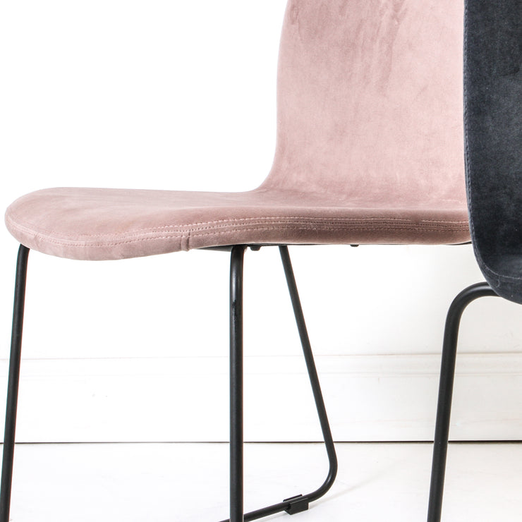 Clove Velvet Dining Chair