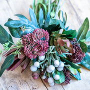 Protea Leucadendron Mixed Bouquet - Burgundy